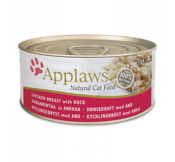 Applaws Κοτόπουλο & Πάπια 70gr
