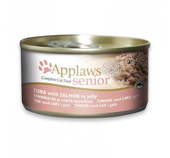 Applaws Senior Jelly Τόνος & Σολομός 70gr