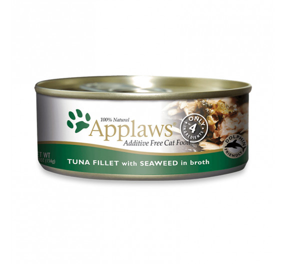 Applaws Jelly Τόνος & Φύκια 3x156gr