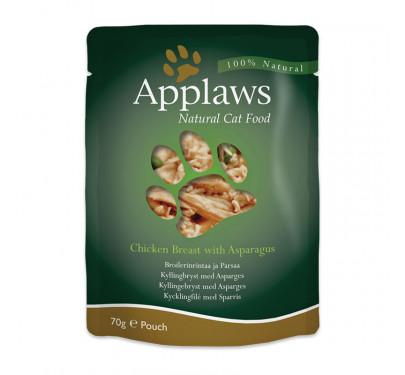 Applaws Κοτόπουλο & Σπαράγγια 70gr