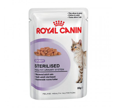Royal Canin Sterilised Gravy Wet 85gr