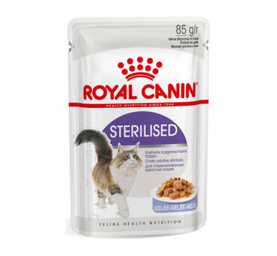 Royal Canin Wet Sterilised Jelly 85g
