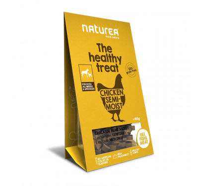 Naturea Semi-moist Snacks Chicken 100gr