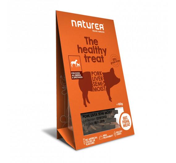 Naturea Semi-moist Snacks Pork Liver 100gr