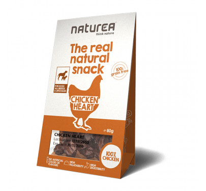 Naturea Natural Snacks Chicken Heart 80gr