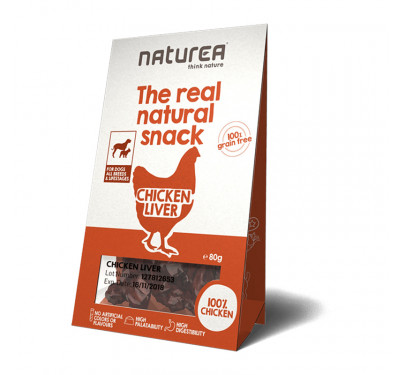 Naturea Natural Snacks Chicken Liver 80gr