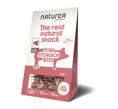 Naturea Natural Snacks Pork Stomach Bites 80gr