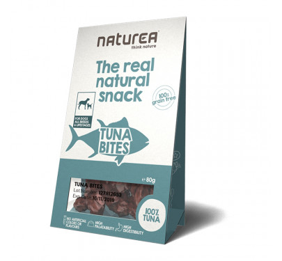 Naturea Natural Snacks Tuna Bites 80gr