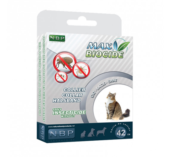 Natural Best Products Max Biocide Collar 35cm