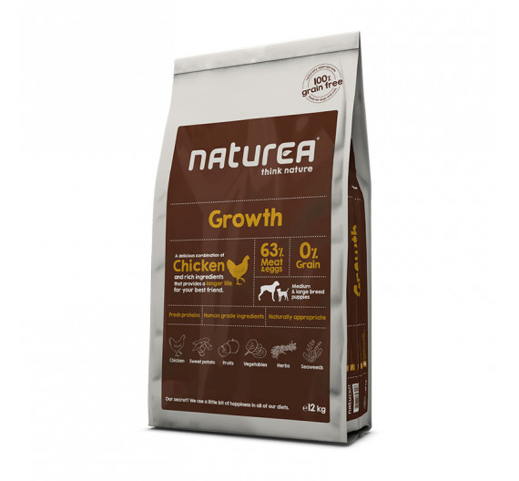 Naturea Grain Free Growth 12 Kg