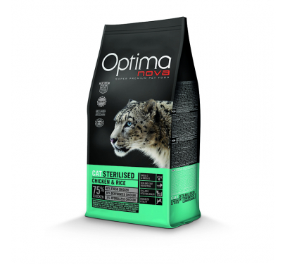 Optima Nova Adult Strerilized 8kg