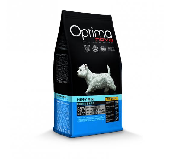 Optima Nova Puppy & Junior Mini Chicken & Rice 2kg
