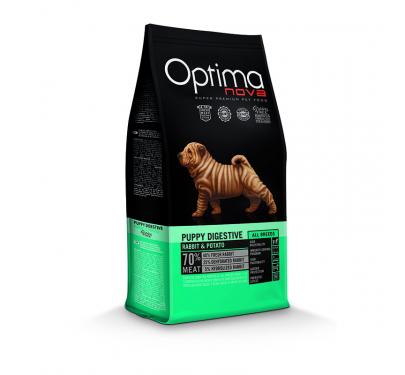 Optima Nova Puppy Digestive Rabbit & Potato 12kg