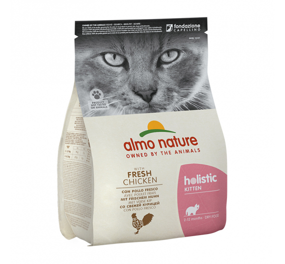 Almo Nature Holistic Kitten Chicken & Rice 12kg