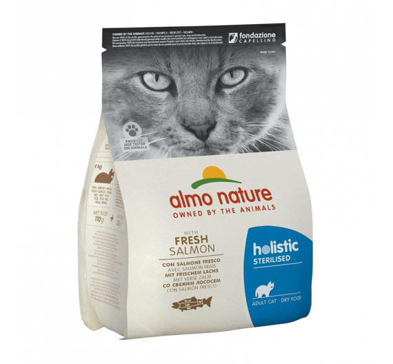 Almo Nature Holistic Sterilised Salmon & Rice 400gr