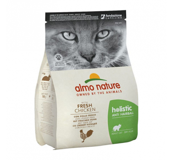 Almo Nature Holistic Anti-Hairball Chicken & Rice 400gr
