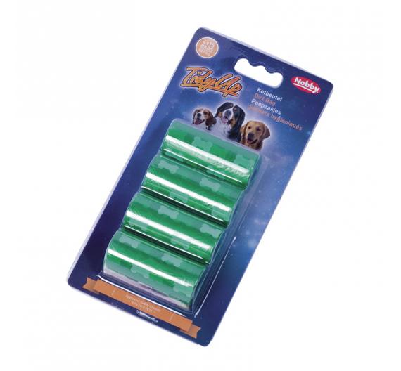 Nobby Σακούλες Απορριμάτων Πράσινες 4x15 τμχ.