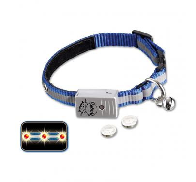 Nobby Flashing Περιλαίμιο με Led Μπλε 24 - 26cm