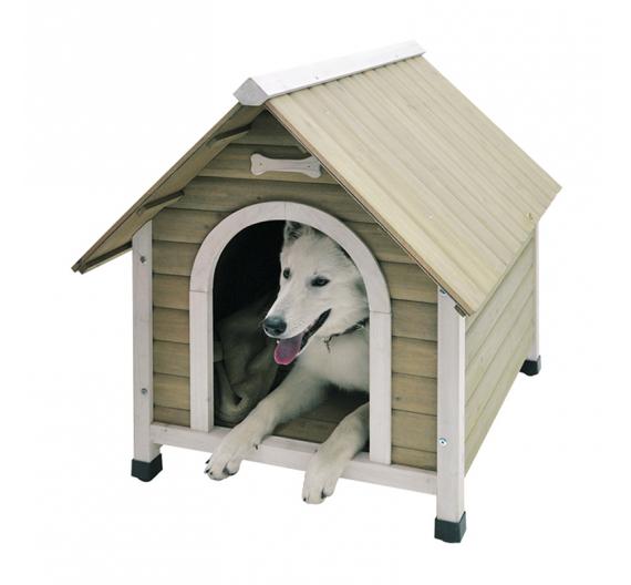 Nobby Σκυλόσπιτο Φυσικού Ξύλου 84Μx70Πx82Υ (έως 15kg)