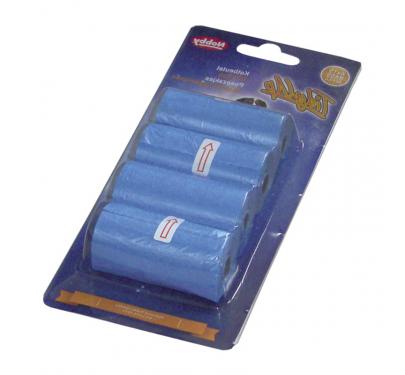 Nobby Σακούλες Απορριμάτων Μπλε 4x15 τμχ.