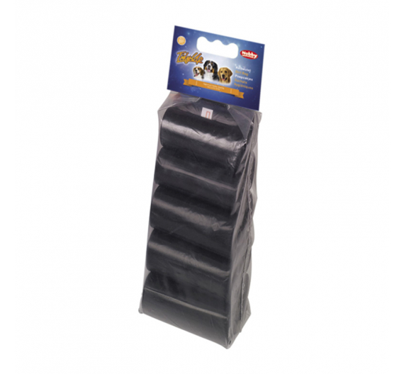 Nobby Σακούλες Απορριμάτων Mαύρες 10x15 τμχ.