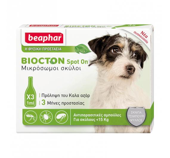 Beaphar Biocton Spot On έως 15kg