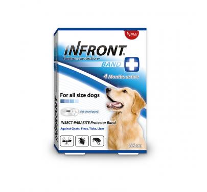 Infront Aντιπαρασιτικό Περιλαίμιο Σκύλου 65cm