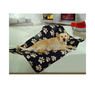 Kουβέρτα με Σχέδιο Πατούσες 150x100cm