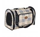 Pet Camelot Τσάντα Μεταφοράς Σκύλου Καρώ έως 5kg