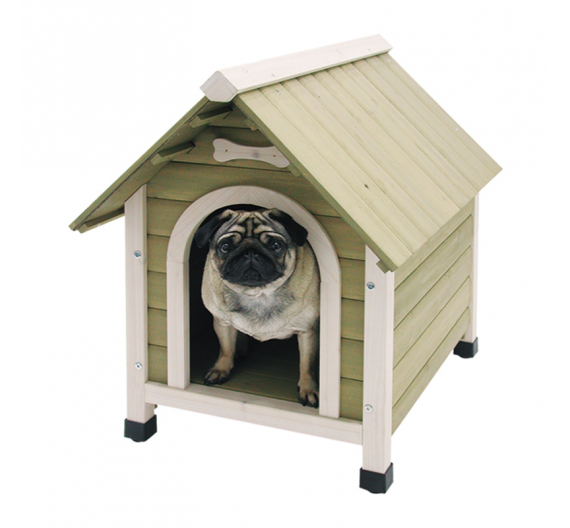 Nobby Σκυλόσπιτο Φυσικού Ξύλου 72.5Μx52.9Πx69Υ (έως 10kg)