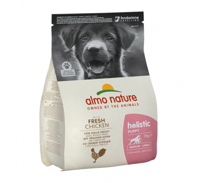 Almo Nature M-L Puppy Chicken & Rice 2kg