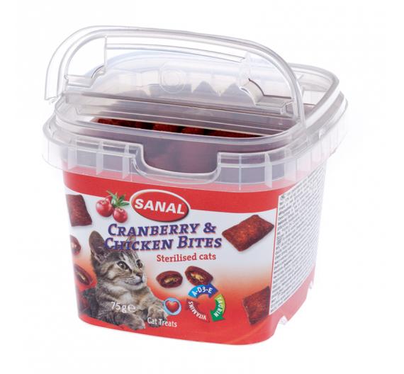 Sanal Cranberry & Chicken 75gr