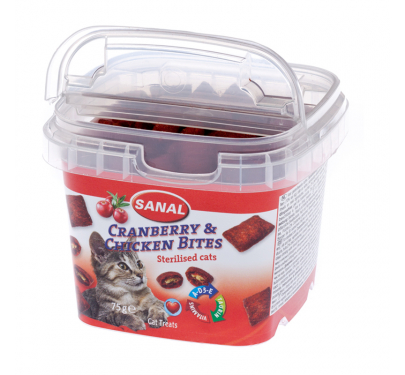 Sanal Cranberry & Chicken 75gr