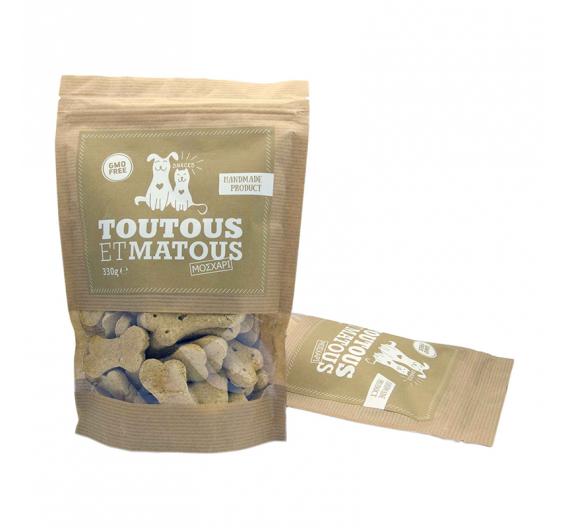 Toutous et Matous Μπισκότα Μοσχάρι 330gr