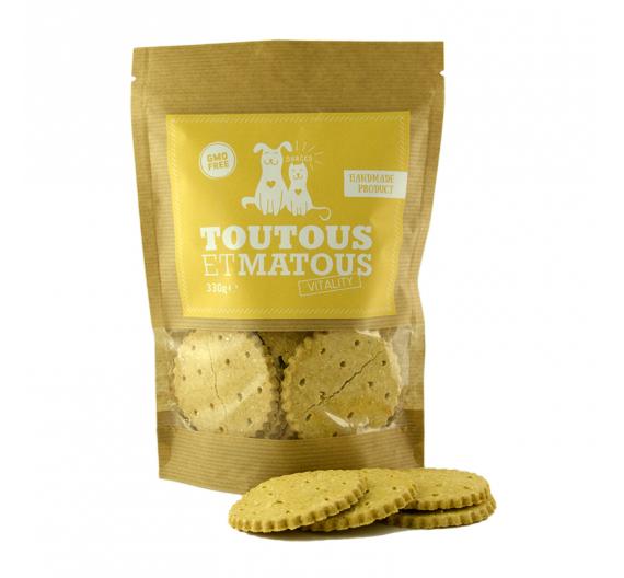 Toutous et Matous Μπισκότα Vitality 330gr