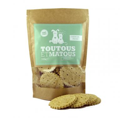 Toutous et Matous Μπισκότα Digestive 330gr