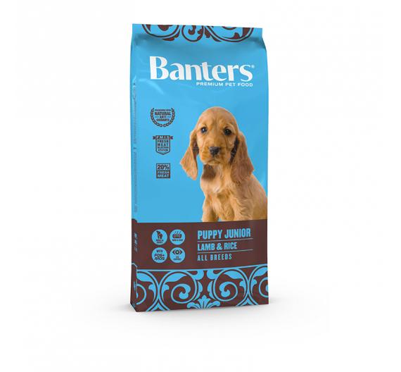 Banters Puppy Junior Lamb & Rice 15kg