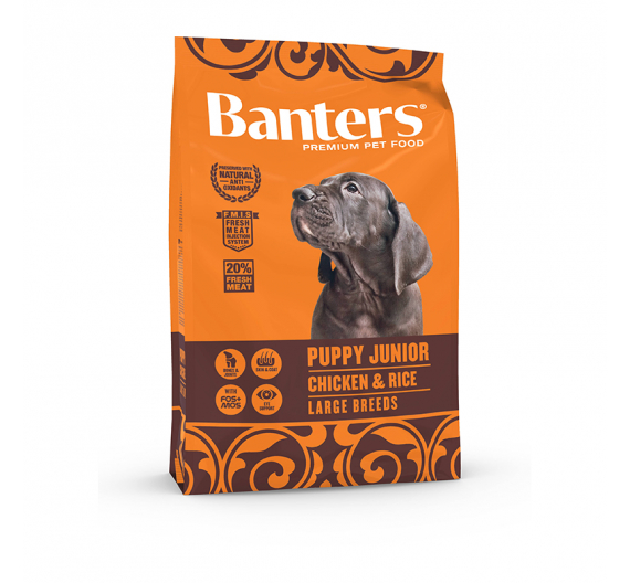Banters Puppy Junior Chicken & Rice Large Breed 3kg