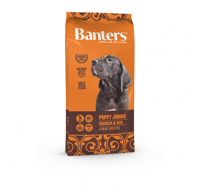 Banters Puppy Junior Chicken & Rice Large Breed 15kg