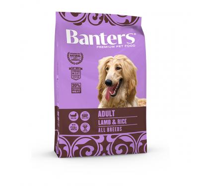 Banters Adult Lamb & Rice 3kg