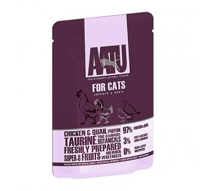 AATU Chicken & Quail Pouch 85g