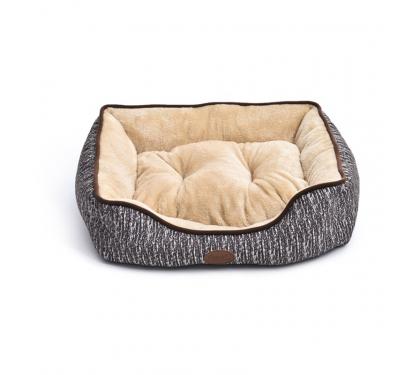 Κρεβάτι με Γούνα Τετράγωνο