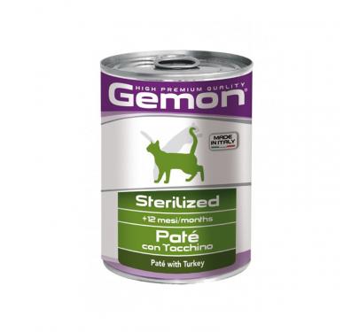 Gemon Cat Chunkies Sterilized Rabbit 415g