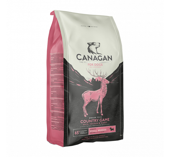 Canagan Small Breed Country Game for Dogs 2kg