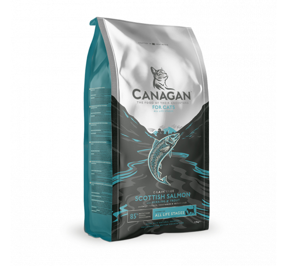 Canagan Scottish Salmon For Cats 4kg