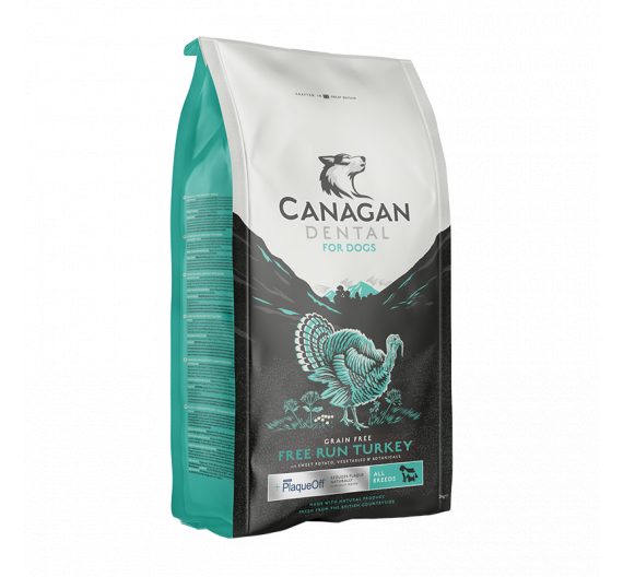 Canagan Free Range Turkey Dental for Dogs 2kg