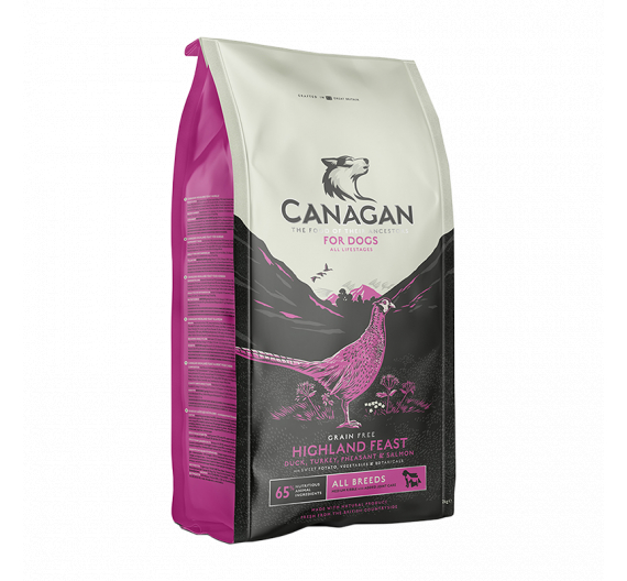 Canagan Highland Feast for Dogs 2kg