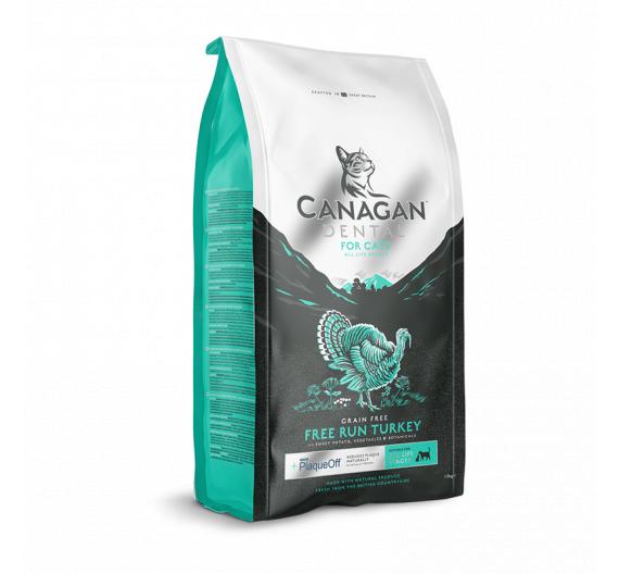 Canagan Free Range Turkey Dental For Cats 4kg