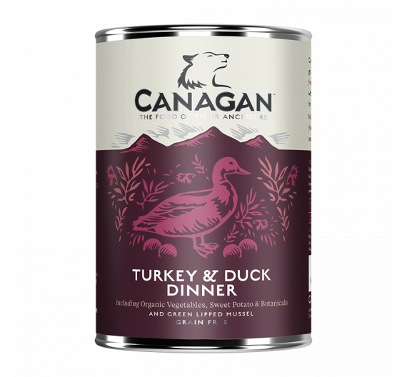 Canagan Can - Turkey & Duck Dinner For Dogs 400gr