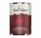 Canagan Can - Venison & Wild Boar Stew For Dogs 400gr